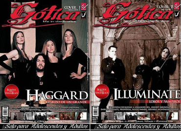 FrightDoll Interview on Revista Gotica